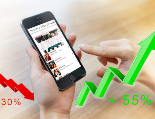 Consumi meno 30% – Vendite online più 55%